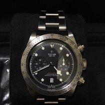 帝陀 Heritage Black Bay Chronograph Steel Automatic - 79350 [NEW]