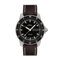 Sinn 104 St Sa I classic pilot watch leather strap NEW