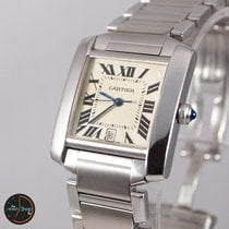 Cartier Tank Française Automatic Stainless Steel 2302