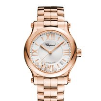 Chopard Happy Sport 274808-5002 New Rose gold 36mm Automatic