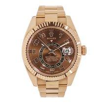 ロレックス SKY-DWELLER 42mm 18K Everose Gold Watch 326935