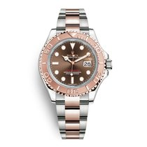 Rolex Yacht-Master Steel & Rose Gold Chocolate Dial 40mm