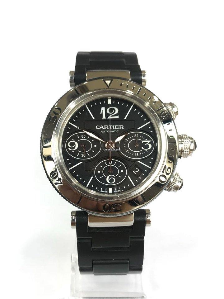 eb8e13b1b66 Relógios Cartier Pasha usados