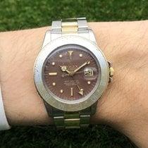 Rolex GMT-Master Tigereye Nipple Dial Stahl / Gold 1675