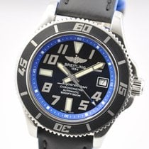 Breitling Superocean 42 Blue/Black Steel  A1736402/BA30
