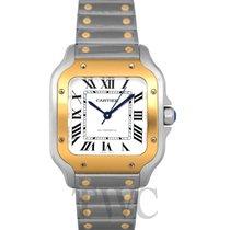 Cartier Santos (submodel) neu Automatik Uhr mit Original-Box und Original-Papieren W2SA0007