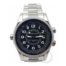 Hamilton Khaki Navy UTC Steel 42mm Black Arabic numerals