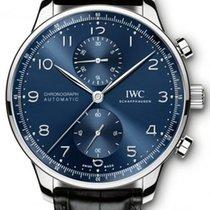IWC Chronograph 40.9mm Automatic 2019 new Portuguese Chronograph Blue