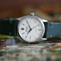 Rolex Oyster Perpetual (Submodel) pre-owned 34mm Steel