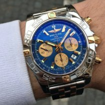 Breitling Chronomat 44 Gold/Steel 44mm Blue