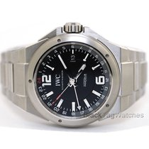 IWC IW324402 Steel 2017 Ingenieur Dual Time 43mm new