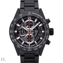 TAG Heuer Carrera Calibre HEUER 01 new 2019 Automatic Chronograph Watch with original box and original papers CAR2090.BH0729