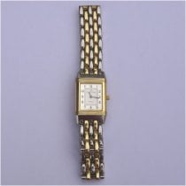 Jaeger-LeCoultre Reverso Lady pre-owned Silver Gold/Steel