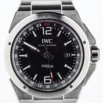 IWC IW324402 Staal Ingenieur Dual Time 43mm tweedehands
