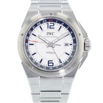 IWC Ingenieur Dual Time Stal 43mm Srebrny