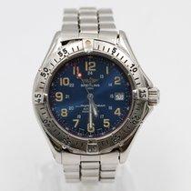 Breitling Superocean Сталь 41mm Синий Aрабские