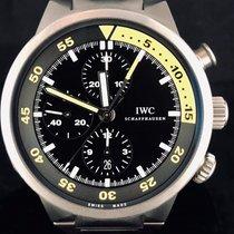 IWC Aquatimer Chronograph Titan 44mm Negru Fara cifre