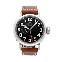 Zenith pre-owned Automatic 48mm Black 10 ATM
