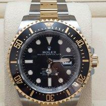 Rolex Sea-Dweller usados 43mm Negro Fecha Acero y oro