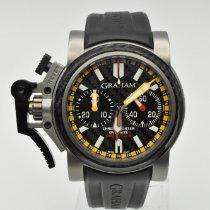 Graham Chronofighter Oversize Titanium 46mm Grey No numerals United States of America, Texas, Houston