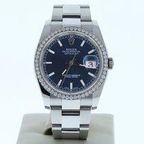 Rolex Datejust 36mm Bleu