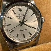 Rolex Air King Precision new 1999 Automatic Watch with original box and original papers 14000