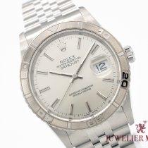 Rolex Datejust Turn-O-Graph neu 1998 Automatik Uhr mit Original-Papieren 16264