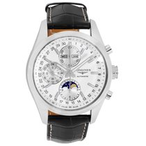 Longines Conquest Classic Steel 42mm Silver