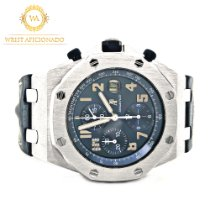 Audemars Piguet Royal Oak Offshore Chronograph gebraucht 44mm Leder