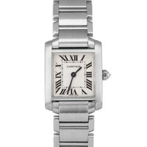 Cartier Tank Française 2384 Very good Steel 22mm Quartz United States of America, New York, Massapequa Park