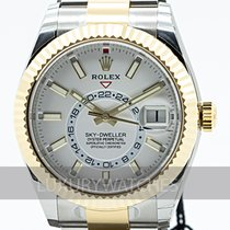 Rolex Sky-Dweller 326933 Ungetragen Gold/Stahl 42mm Automatik