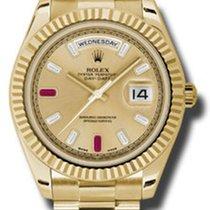 Rolex Day-Date II 218238 chrdp 2014 használt