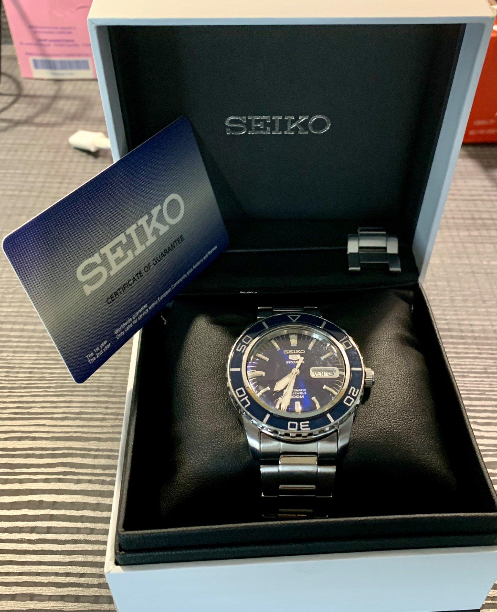 Seiko 5 Sports à vendre pour 118 € par un Vendeur
