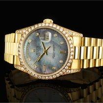Rolex Day-Date (36mm) Ref.: 18388 in 18k Gelbgold mit Box...