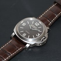 Panerai Luminor Base 8 Days Titanio 44mm Marrón Árabes