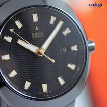 Rado Men's D-Star 42mm Automatic Ceramic Watch Black Face