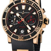 Ulysse Nardin Maxi Marine Diver new Automatic Chronograph Watch with original box 8006-102-3A.926
