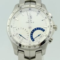 TAG Heuer Link Quartz Steel 42mm Grey No numerals