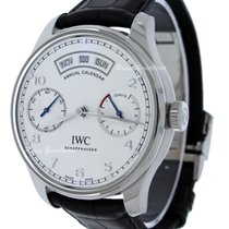 IWC Portuguese Annual Calendar IW503501 New Steel 44,2mm Automatic
