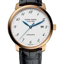Ulysse Nardin Classico 18K Rose Gold Men's Watch