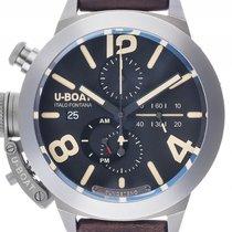 U-Boat Italo Fontana Classico 45 Titanio Tungsteno CA/BK Titan...