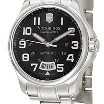 Victorinox Swiss Army Officer's 125 Automatic Steel Mens...