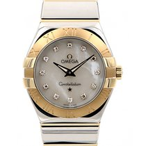 Omega Constellation 27mm Quartz MOP Dial