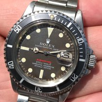 Rolex Submariner Single Red MK2 Tropical Brown Dial  1969's