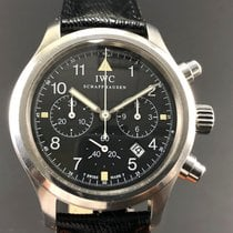 IWC Der Flieger Chronograph Pilot, with 3 Registers Men's Watch