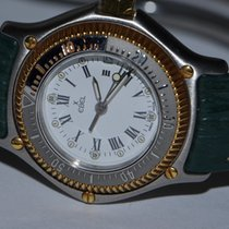Ebel Discovery Gold/Steel 29mm White Roman numerals United States of America, New York, Greenvale