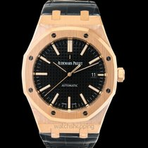 Audemars Piguet 15400OR.OO.D002CR.01 Rose gold Royal Oak Selfwinding new United States of America, California, San Mateo