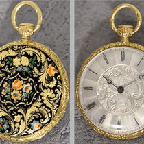 Vacheron Constantin rare 18K Gold Quater Repeater, polychrome...