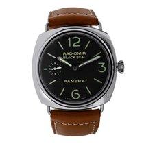 Panerai Radiomir Black Seal nieuw Automatisch Horloge met originele doos en originele papieren PAM00183