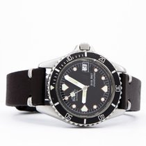 Ernest Borel 37mm Automatic 1970 pre-owned Black
